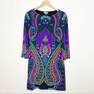 [Madison] Colorful Retro 60s Mod Style Dress